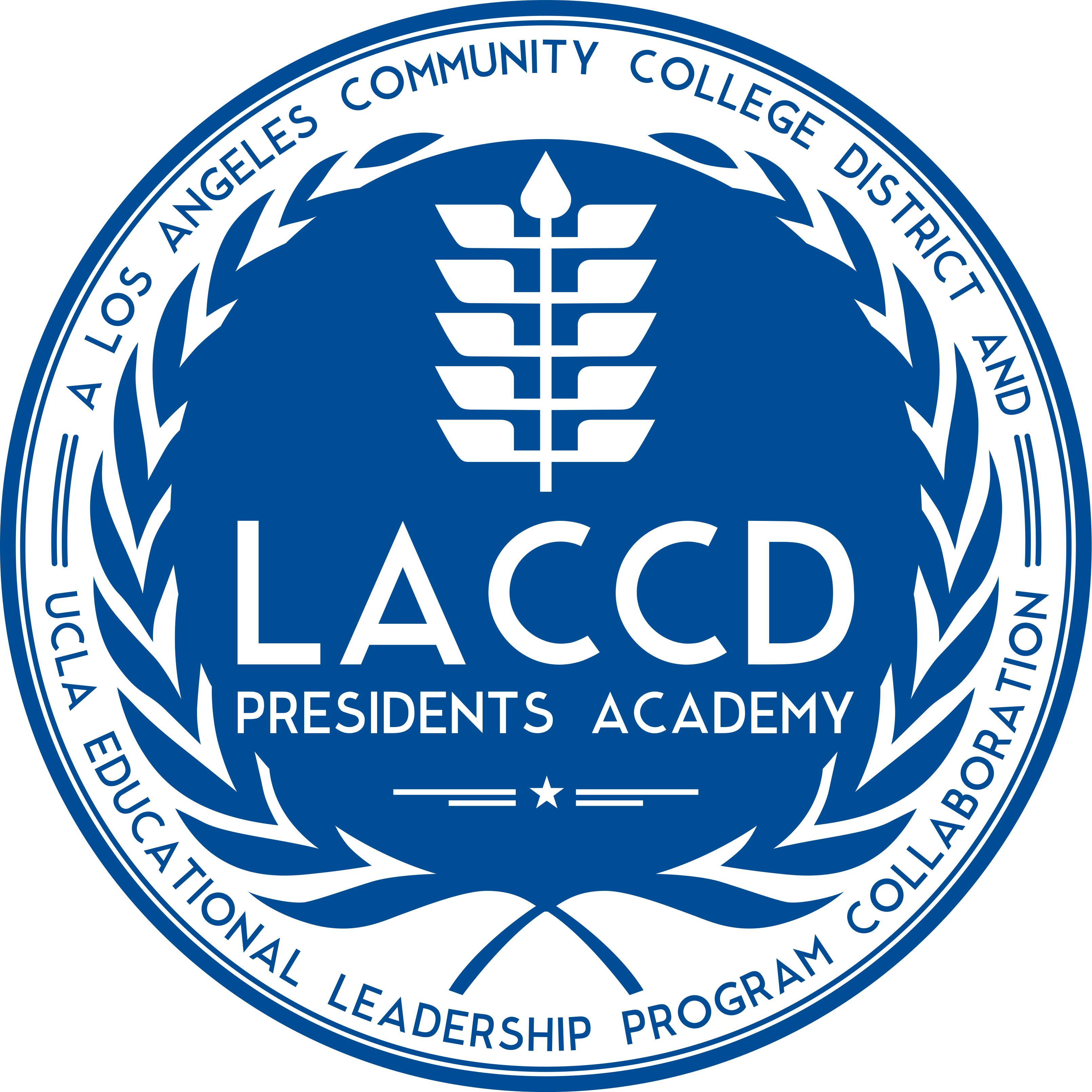 LACCD Presidents Academy Logo