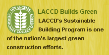 LACCD Builds Green Image